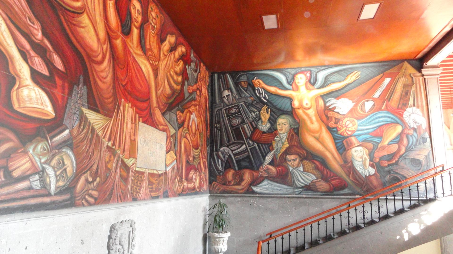 Murals of guadalajara travelling locally and internationally for Aviso de ocasion mural guadalajara